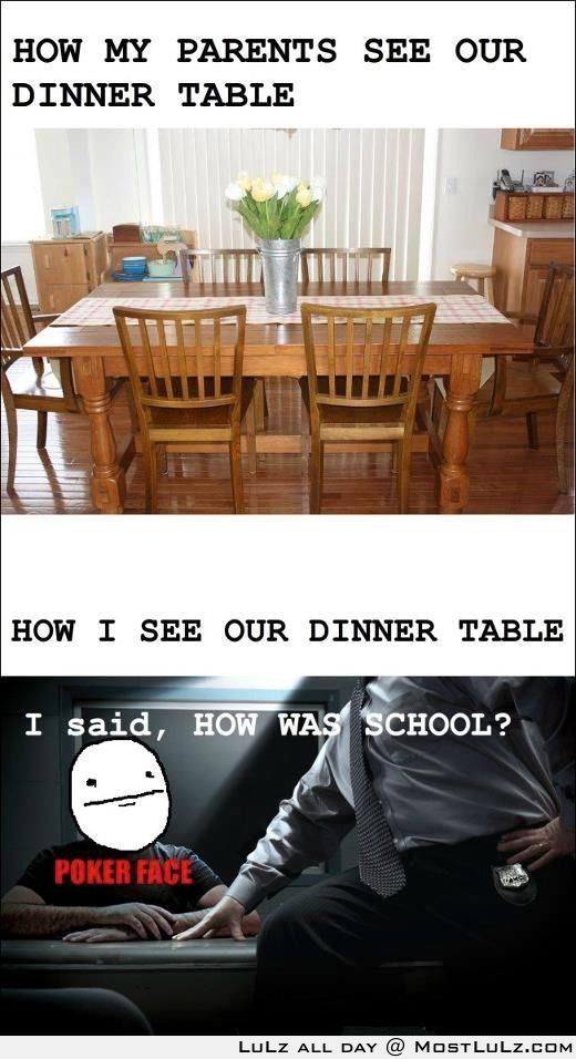 The dinner Table of Doom
