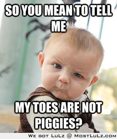No Piggies!? LuLz