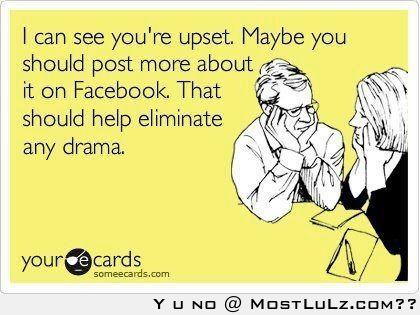 Eliminate any drama LuLz