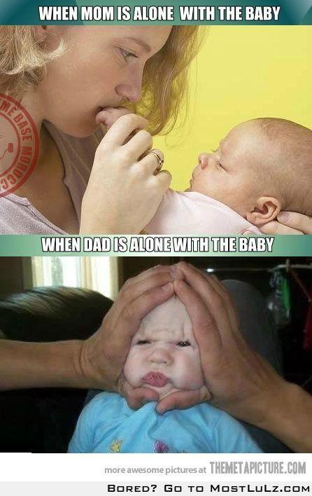 Mom vs Dad LuLz