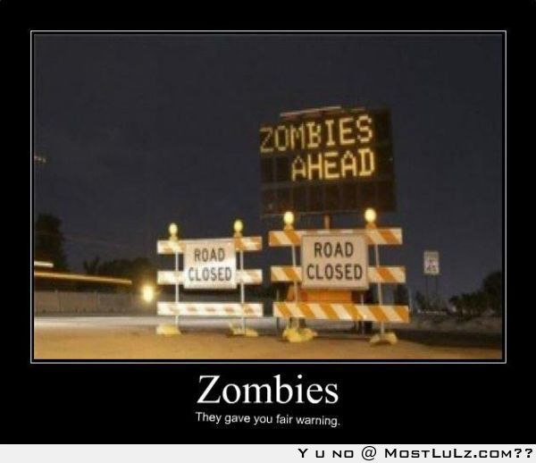 Zombies can be fair too LuLz