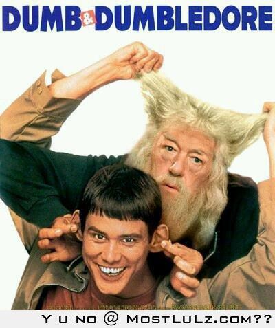 Dumb and Dumbledore LuLz