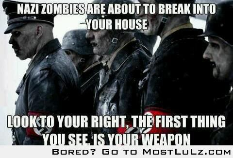 Nazi Zombies LuLz