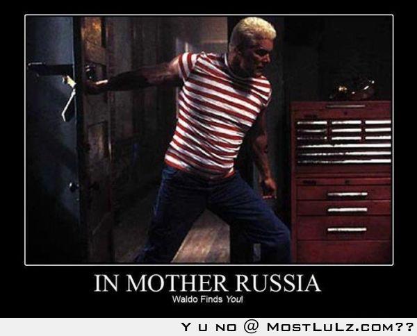 Holy Russian Waldo LuLz