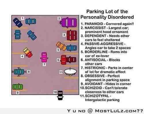 Parking Disorders LuLz