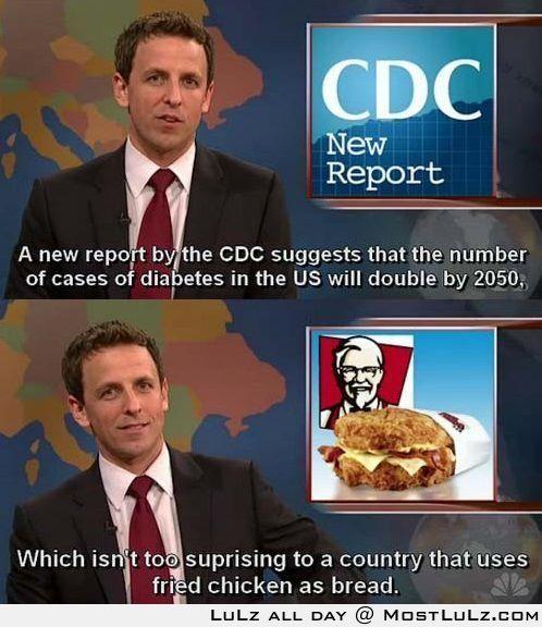 The CDC hates KFC LuLz