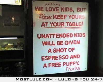 Expresso and a puppy would be awesome LuLZ