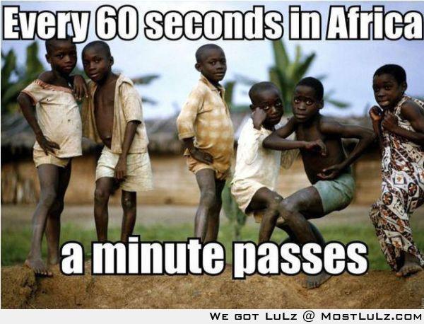 60 seconds equals 1 minute LuLZ