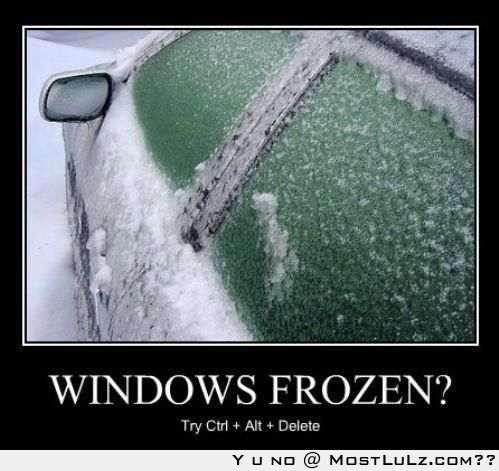Frozen windows LuLz