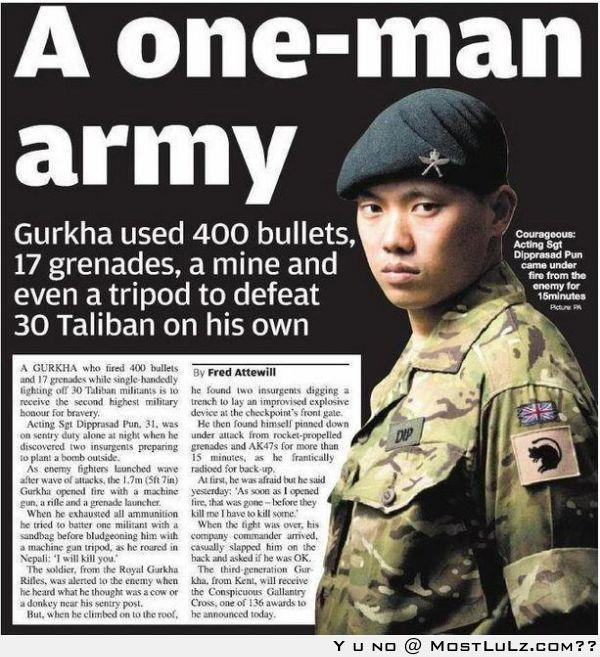 A one-man army LuLz