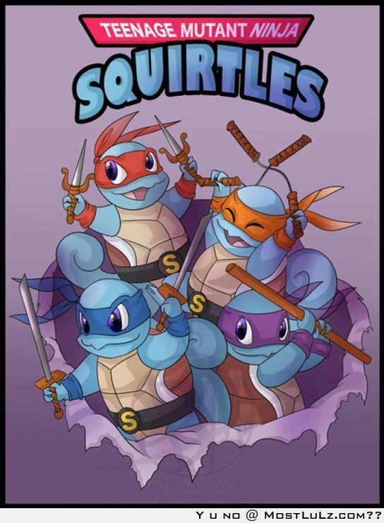 Ninja Squirtles LuLz