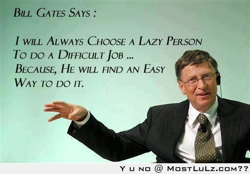 Bill Gates Win LuLz