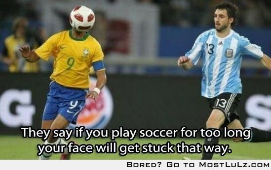 Soccer Face LuLz