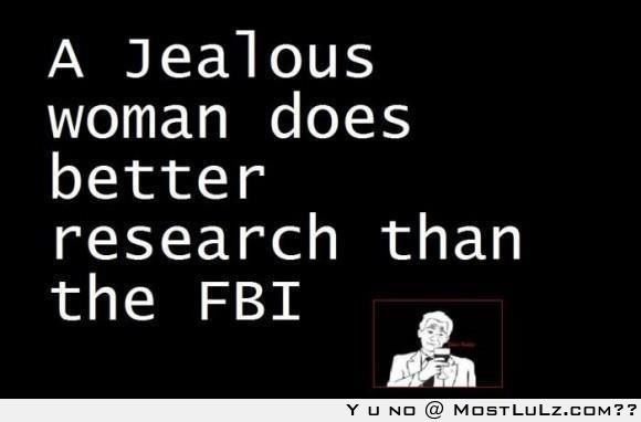 Women are greater than the FBI LuLz