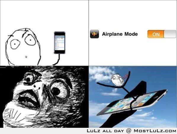 Go go Gadget Airplane! LuLz