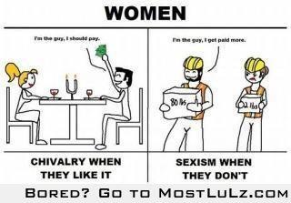 Double Standards win! LuLz