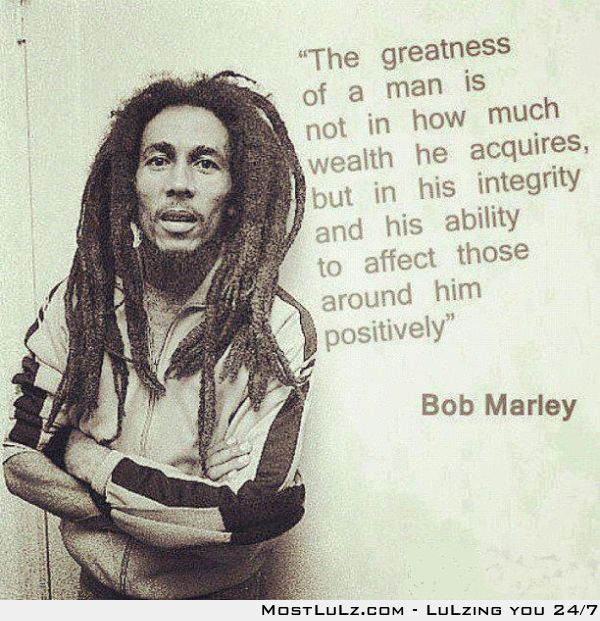 Said the Great and Mighty Marley
