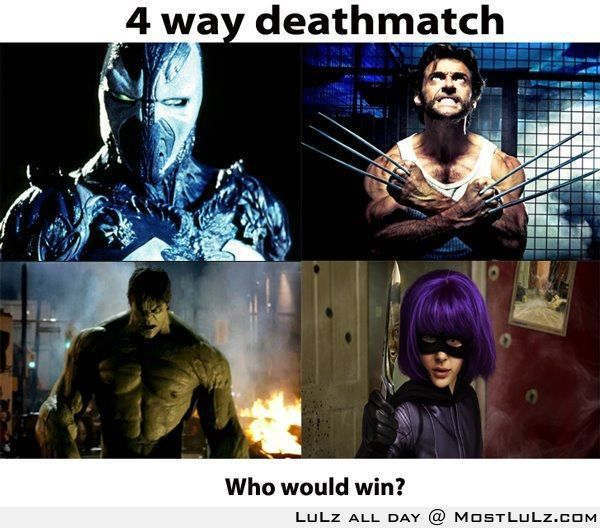 Who would win? LuLz