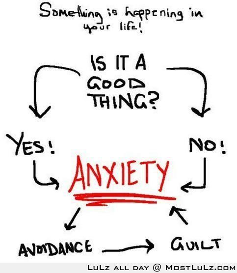 Anxiety is a bitch LuLz