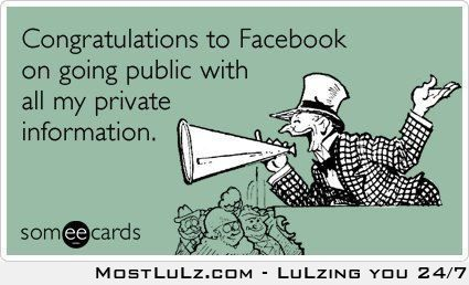 Going Public with your Privates