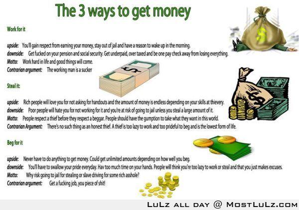 Three Paths to Success! LuLz