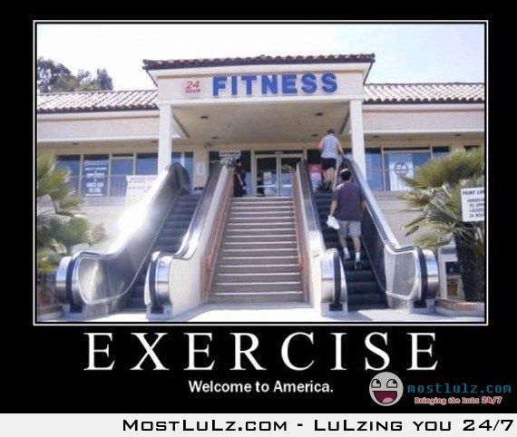 Exercise in America LuLz
