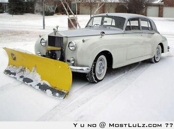 Most expensive snow plow LuLz