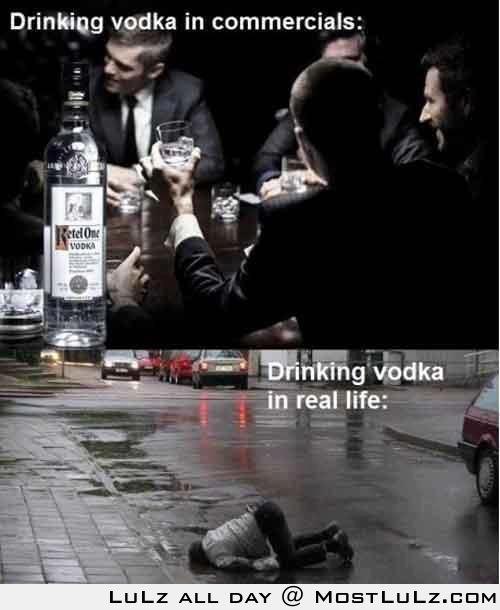 Drinking vodka LuLz