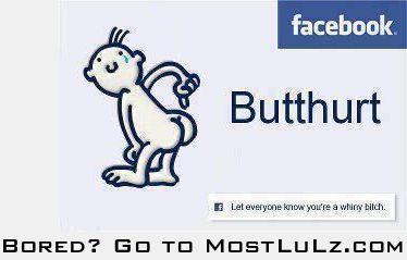 Butthurt? LuLz