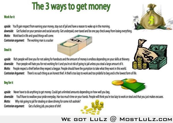 3 ways to get money LuLz