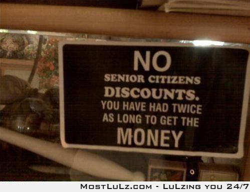Lazy seniors LuLz