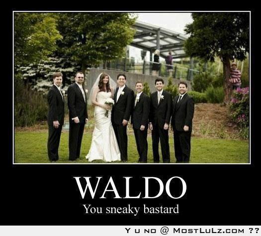 Oh Waldo you silly guy