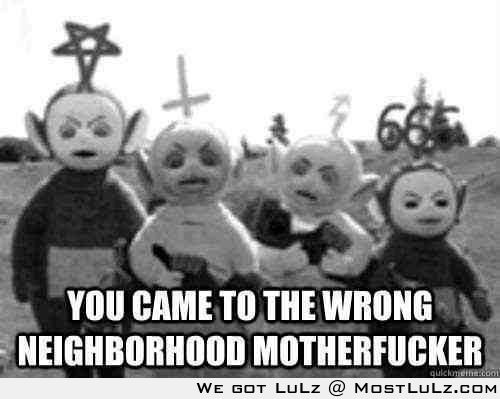 The real teletubbies LuLz