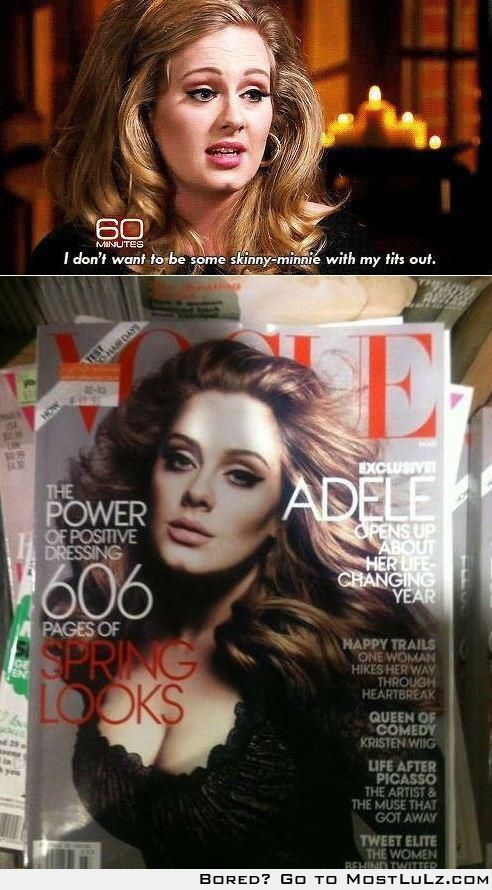 Vogue will turn you into one of those LuLz