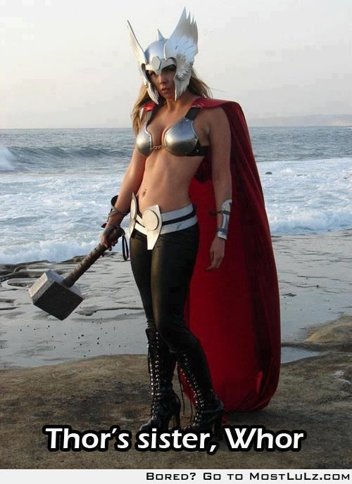 Thor's Sister