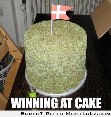 what a great cake