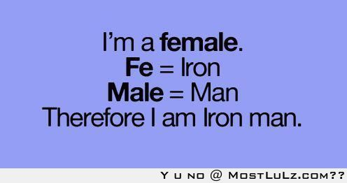 I am Iron Man LuLz