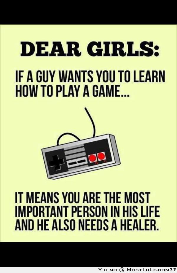 Gamer Love LuLz