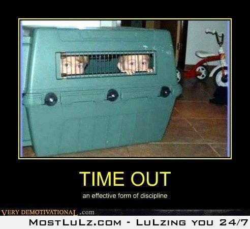 Best time out ever LuLz