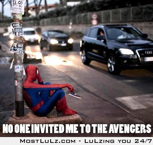 Poor  Spiderman LuLz