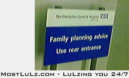 Family planning in the rear