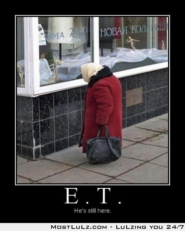ET is among us LuLz