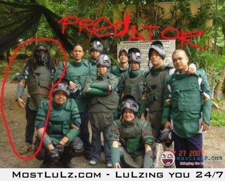 A real life predator! LuLz