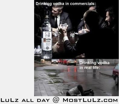 Drinking Vodka does this LuLz