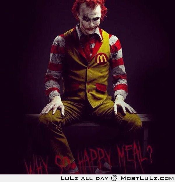 McDonalds Joker LuLz