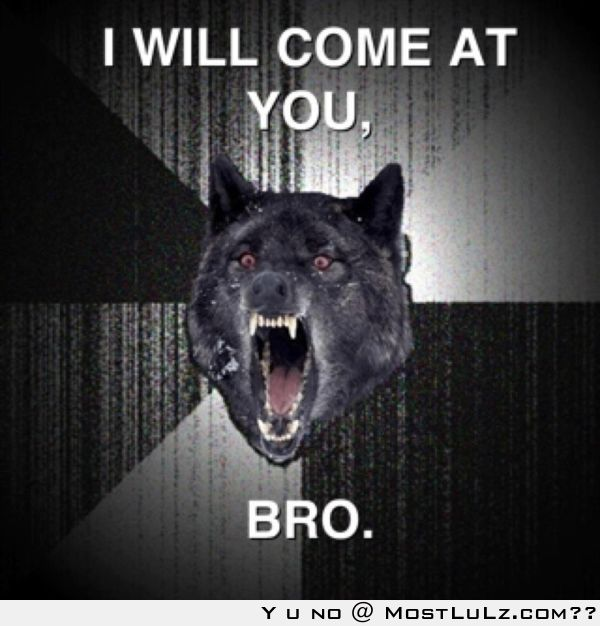 I'll come at you bro LuLz