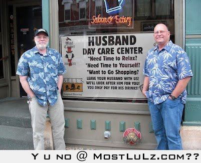 Just leave your husband here LuLz