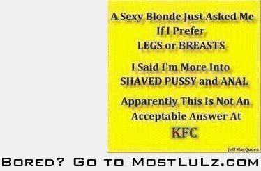 Legs or Breasts LuLz