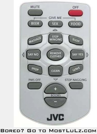 This is my kind of remote LuLz