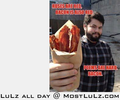 We could all use more bacon LuLz